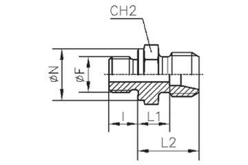 TN92-SR Adaptor drept